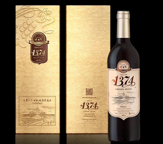 1374干红葡萄酒(礼盒装)